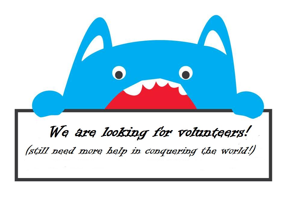 Looking for volunteers NVP